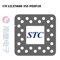 STC12LE5608-35I-PDIP20封装图片