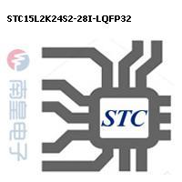 STC15L2K24S2-28I-LQFP32封装图片