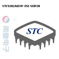 STC5202AD3V-35I-SOP20封装图片