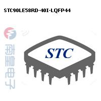 STC90LE58RD-40I-LQFP44封装图片